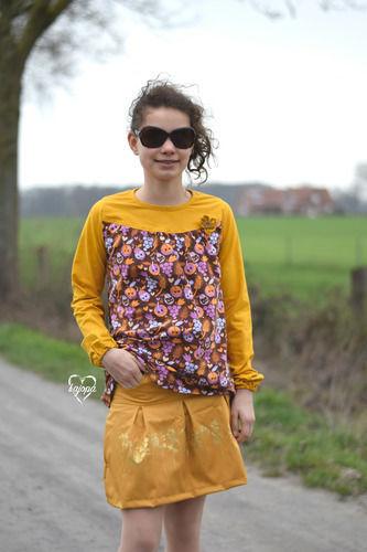 Makerist - Tessa Girly und Lumalis Röckchen - Nähprojekte - 1