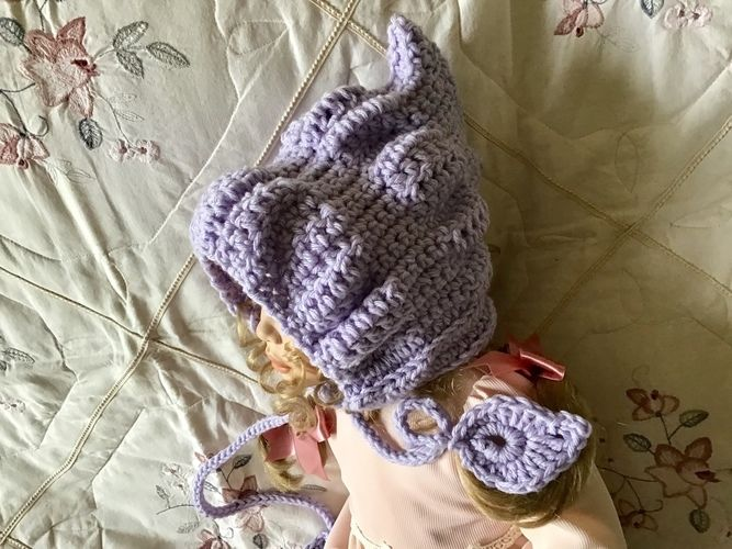 Makerist - Secret Garden Pixie Hat - Crochet Showcase - 2
