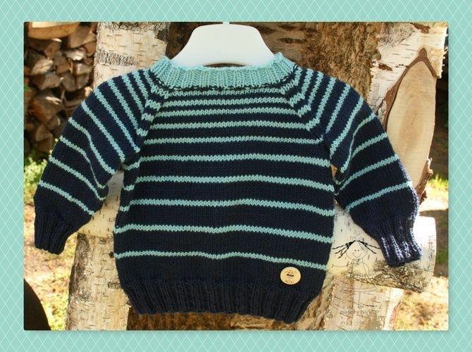 Makerist - Babypulli Stripes gefunden bei ela-strickt.blogspot.com - Strickprojekte - 1