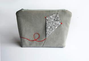 Makerist - Kosmetiktasche Portemonnaie mit Drache - 1