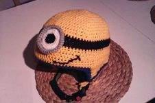 Makerist - Minion-Skihelm-Mütze  - 1