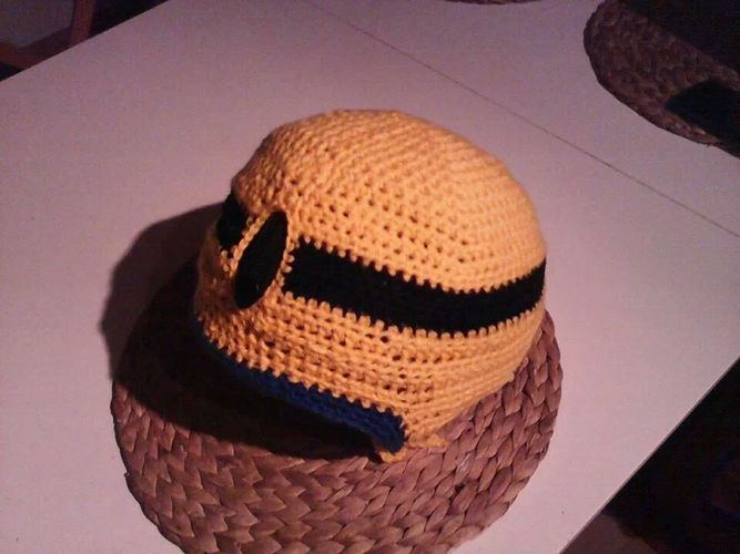 Makerist - Minion-Skihelm-Mütze  - Häkelprojekte - 3