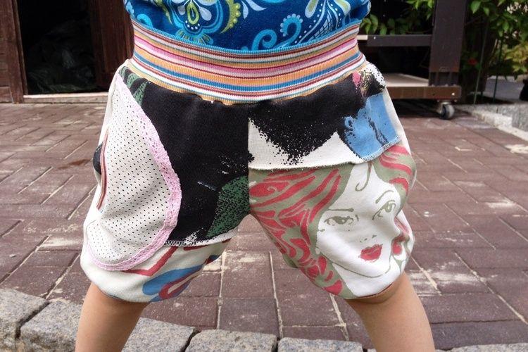 Makerist - Das war mal ein knielanger rock von mir. Jetzt ist es eine Shorts für meine kleine - Nähprojekte - 1