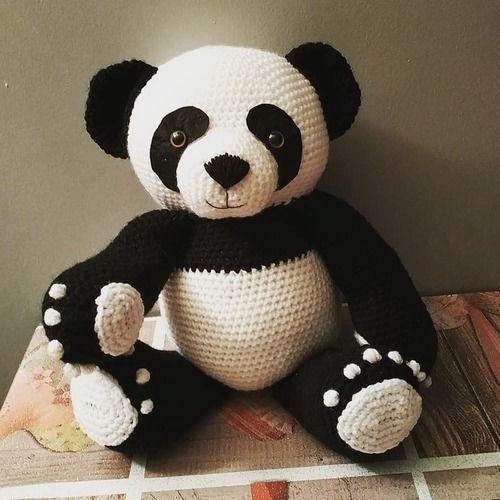 Makerist - Panda amigurumis 38cm debout - Créations de crochet - 2