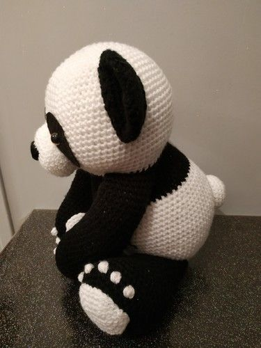 Makerist - Panda amigurumis 38cm debout - Créations de crochet - 3
