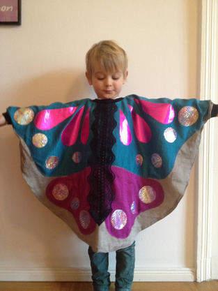 Makerist - Schmetterling Kostüm für Kinder - 1