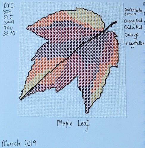 Makerist - Stitching Projects - Blackwork Journal - March 2019 - Sewing Showcase - 2