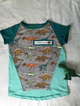 Makerist - Cooles Dino-Shirt - 1