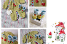 Makerist - Hearts and Kisses Onesie and Bootie set - 1