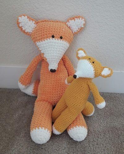 Makerist - Amigurumi-toy – Felix the fox - crochet – tutorial-pattern - Crochet Showcase - 3