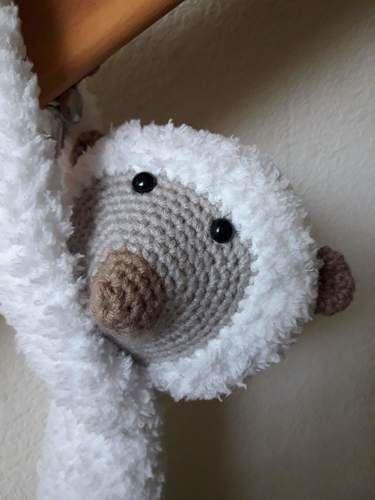 Makerist - Peluche - Clémentine le lémurien - crochet – tutoriel - Créations de crochet - 2