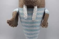 Makerist - Amigurumi – Walter the walrus - crochet – tutorial - 1