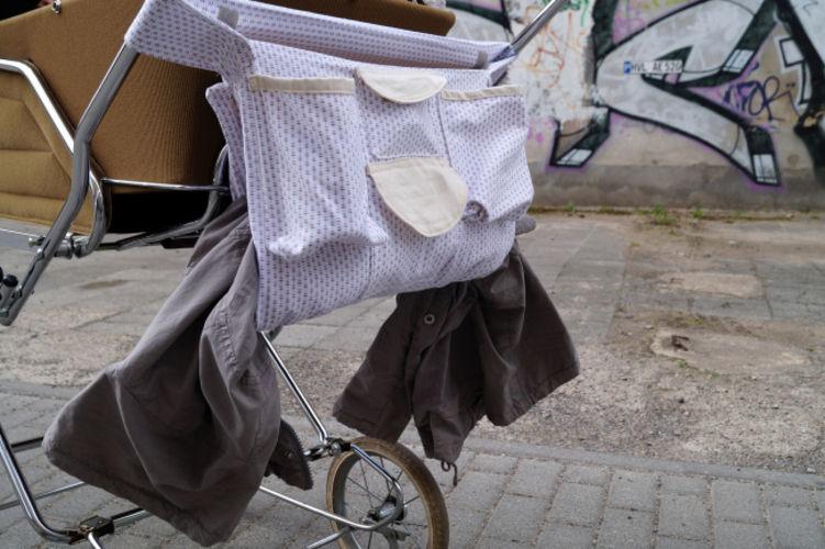 Makerist - Upcycling: Kinderwagenorganizer inkl. Einkaufstasche aus alter Bettwäsche - DIY-Projekte - 2