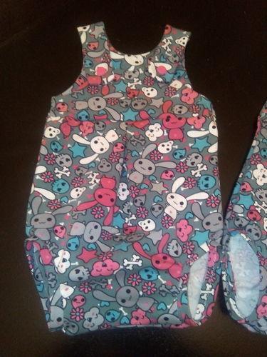 Makerist - barboteuse d'été Konfetti pour des jumelles  - Créations de couture - 3