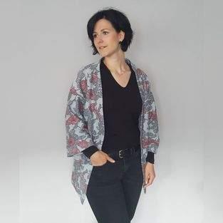 Makerist - Kimono Florence aus Jaquard Jersey - 1
