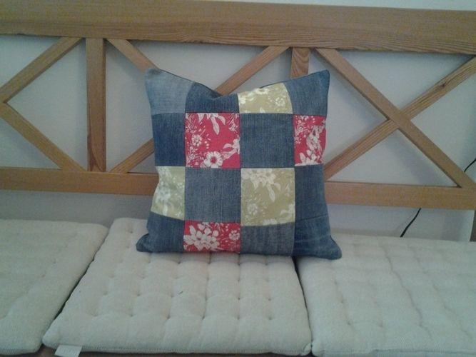 Makerist - Kissen aus alten Jeanshosen - Nähprojekte - 2