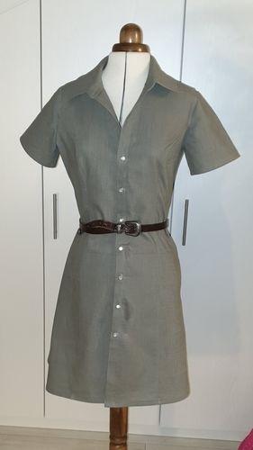 Makerist - Blusenkleid aus Leinen - Nähprojekte - 1