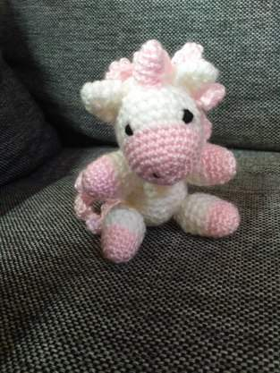 Makerist - Mini Einhorn Rosa  - 1