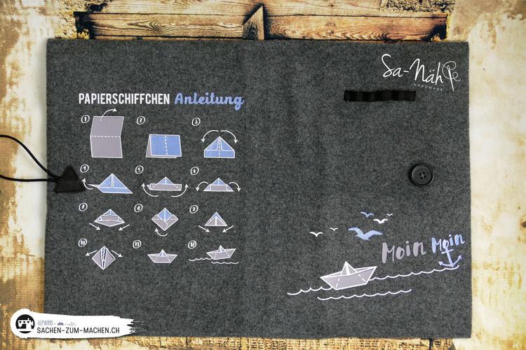 Makerist - Papierschiffchen Anleitung - DIY-Projekte - 2