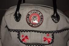 Makerist - Bowlingbag. Die ist aus Baumwolle und meine heissgeliebte Tasche, die ich jeden Tag verwende. - 1