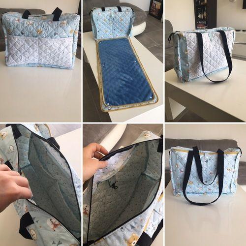 Makerist - Sac à langer fétiche avec tapis nomade - Créations de couture - 1