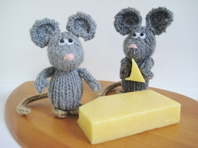Makerist - Dinky Mice - Knitting Showcase - 3