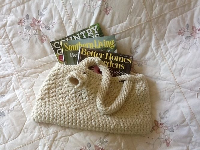 Makerist - French Alps Inspired Tote Bag - Crochet Showcase - 2