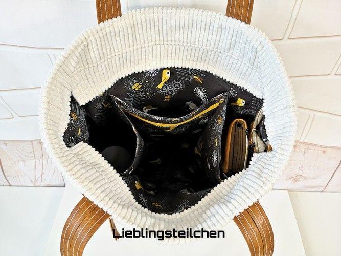 Makerist - Taniia Bag von Unikati.Jede.Naht.ein.Unikat. Genäht ist sie aus Breitcord 😊 - Nähprojekte - 3