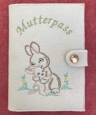 Makerist - Mutterpasshüllen - dem freudigen Ereignis entgegen  - 1