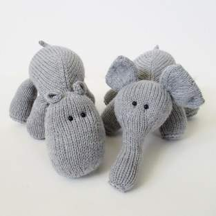 Makerist - Hippo and Elephant - 1