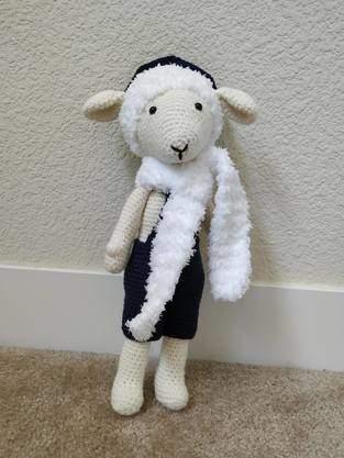 Makerist - Amigurumi – Gédéon le mouton - crochet – tutoriel - 1