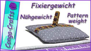 Makerist - Anleitung Fixiergewichte / Nähgewichte für Schnittmuster extra schwer u. flach - 1