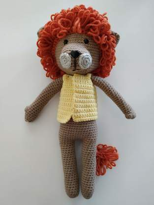 Makerist - Amigurumi – Saroo the lion - crochet – tutorial - 1