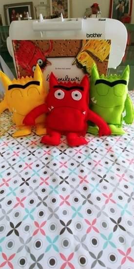 Makerist - Les monstres de la couleurs des émotions pour une petite fille de 2ans1/2 - 1
