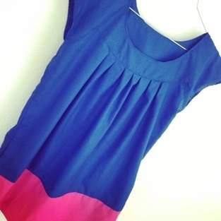Makerist - Kleid A-Linie Colourblocking - 1