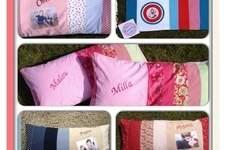 Makerist - Kissenbezüge 40x80 cm für unsere Family  - 1