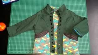 Makerist - Dino Sweat Jacke für meinen Sohn - 1