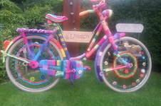 Makerist - Eingestricktes Fahrrad, Wolle - 1