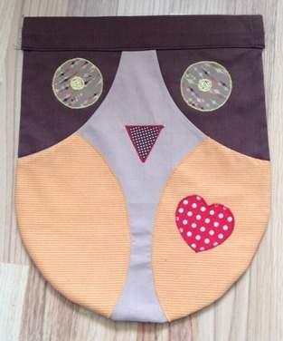 Makerist - Wäscheklammernbeutel aus Baumwolle für meine Mama - 1