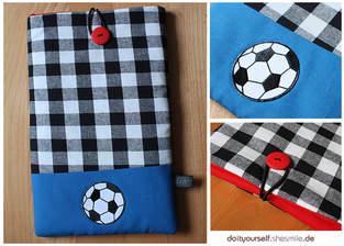 Makerist - Tablet-Tasche im Fußball Design für meinen Neffen - 1