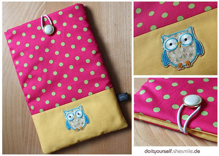 Makerist - Tablet-Tasche im Eulen-Design für meine Nichte :) - Nähprojekte - 1