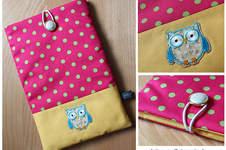 Makerist - Tablet-Tasche im Eulen-Design für meine Nichte :) - 1
