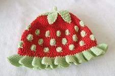 Makerist - Häkelmütze Erdbeere für Kinder - 1