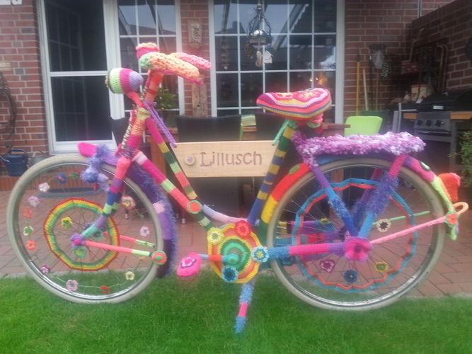 Makerist - Eingestricktes Fahrrad, Wolle - Strickprojekte - 1