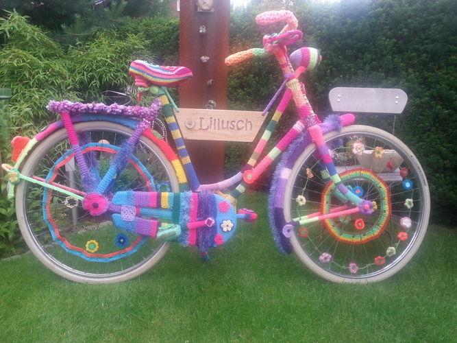 Makerist - Eingestricktes Fahrrad, Wolle - Strickprojekte - 2