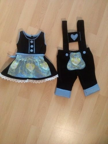 Makerist - Taufkleidung für meine Nichte und meinen Neffen (Zwillinge) - Nähprojekte - 1