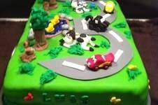 Makerist - Cars Torte zum 3. Geburtstag  - 1