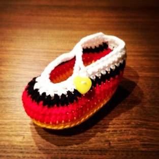 Makerist - Deutschland Fußball-Babyschuh für Mädchen - 1