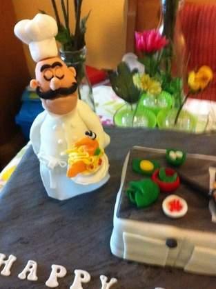 Makerist - Geburtstagstorte für meinen Sohn, der Koch ist.  - 1