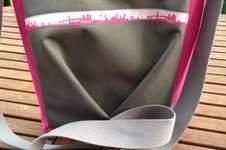Makerist - FaltenLIEBE Hamburg für coole Mädchen in grau und pink! - 1